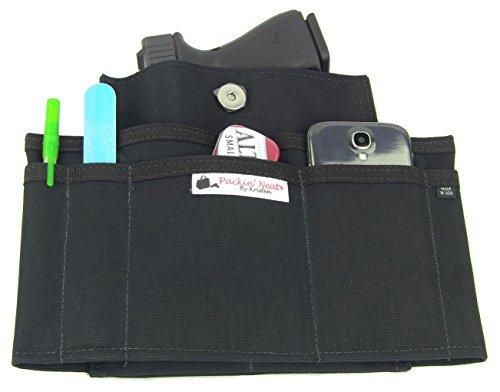 Packin' Neat Skinny Purse Insert Revolver Organizer & (Purse Insert Holster compare prices)