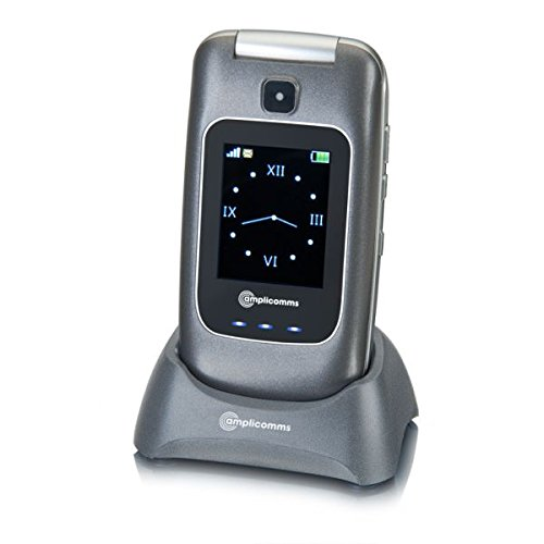 Amplicomms PowerTel M7500 Silver Téléphone Mobile Senior