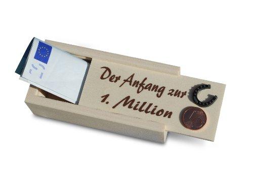 Der Anfang zur 1.Million Geschenkbox für Geldgeschenke