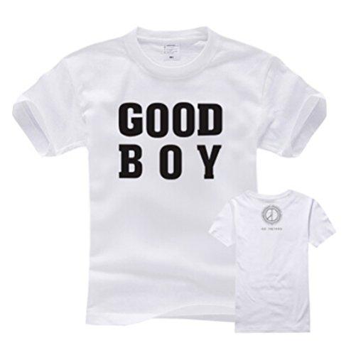 Good Boy Bigbang G-Dragon New Album Unisex T-shirt (White, L) (Good Boy G Dragon Shirt compare prices)