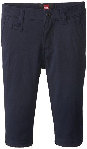 Quiksilver Baby-Boys Infant Union Chino Pant Navy, Navy , 18 Months front-508676