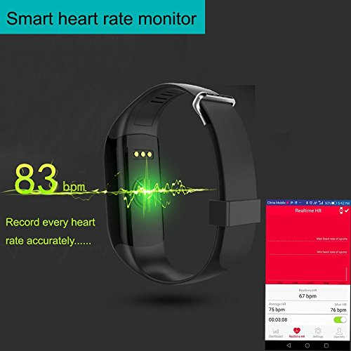 yamay fitness activity tracker smart armband mit. Black Bedroom Furniture Sets. Home Design Ideas