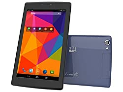 Micromax Canvas P480 Tablet(8GB,WiFi, 3G, Voice Calling), Grey