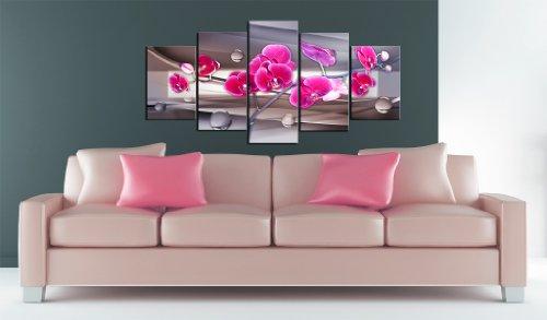 Tableau grand format fleurs for Tableau en 3 parties