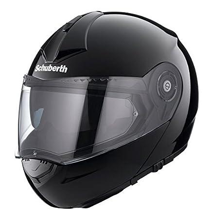 Casque de moto noir Gloss Pro Schuberth C3