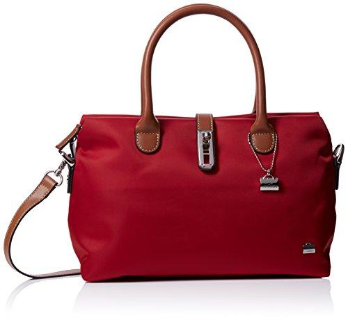 La Bagagerie Shop Xbd, Borsa a tracolla donna Taglia unica, rosso (Rosso (Bordeaux)), Taglia unica