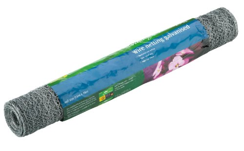 Botanico 10m x 0.6m Galvanised Wire Netting 25mm