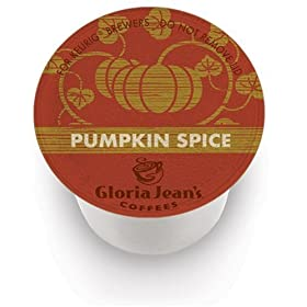 Gloria Jean's K-Cup, Pumpkin Spice, 24-Count Box