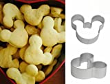 Cute Mickey Mouse Cookie Fruit Cutter Fondant Cakes Craft Decorations Tool