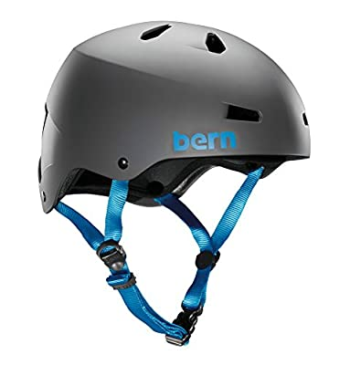 Bern Men's Macon ABS Hardshell with EPS Foam Helmet from Bern