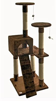Go Pet Club Cat Tree Furniture, 21 x 21 x 52-Inch