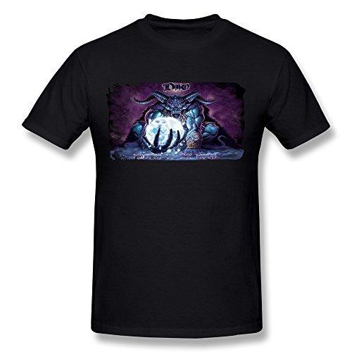 Uomo's Ronnie James Dio Heavy Metal T-shirt
