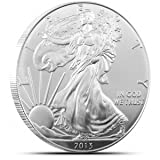 2013 Silver Eagle Dollar BU in Airtite Coin Capsule