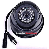Secure-U Generic CCTV DOME 24 IR DAY/NIGHT VISION INBUILT DVR/ MEMORY SLOT WITH TV VIDEO OUTPUT