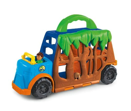 Fisher-Price Diego Animal Transport front-91400