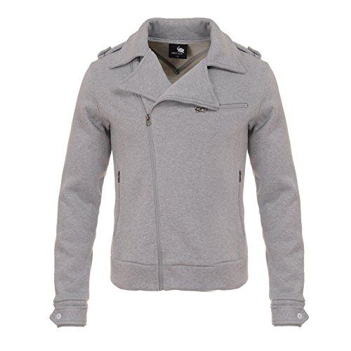 Uomo Pullover Maglia a Manica Lunga Solid Felpa Vestibilità Slim Giacche Con Zip Moda Con Cappuccio Con Pocket