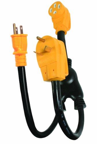 Camco 55025 Powergrip Maximizer 45 Amp Adapter