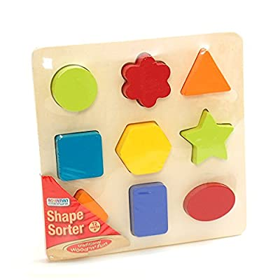Ackerman Wooden Shape Sorter Sorting Puzzle