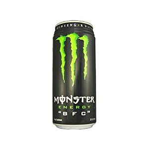 Monster Energy Drink, BFC, 32-Ounce Cans (Pack of 12)