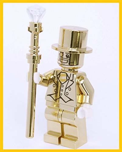 [Minifigures series 10 MR.GOLD] (Mr Gold Lego Costume)