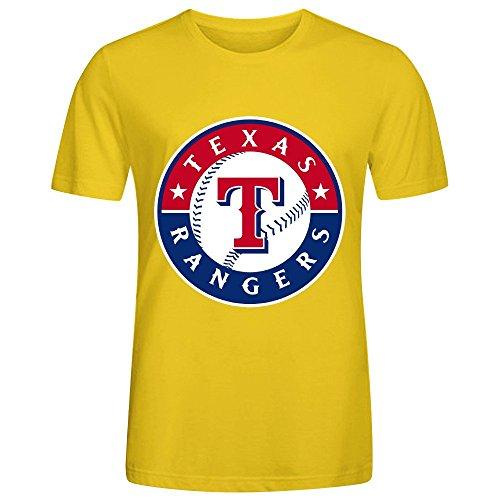 mlb-texas-rangers-team-logo-crew-neck-men-graphic-t-shirts-yellow