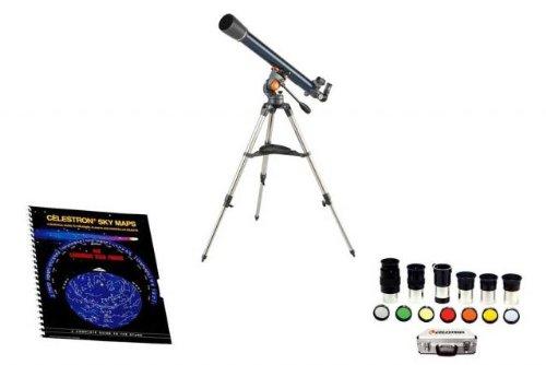 Celestron Astromaster 21061 Kit - Celestron Astromaster 70 Az Altazimuth Refractor Telescope