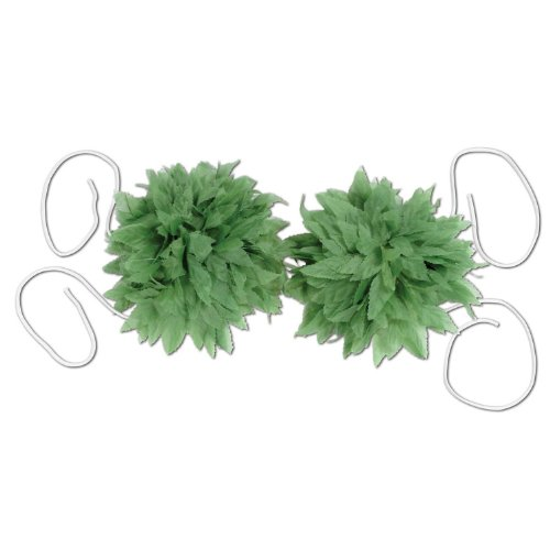 Fern Leaf Bikini Top Party Accessory (1 count) (1/Pkg) - 1
