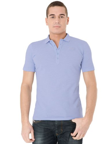 Diesel T-pools-rs 85w Straight Blue Man Polo Shirts Men - Xxl