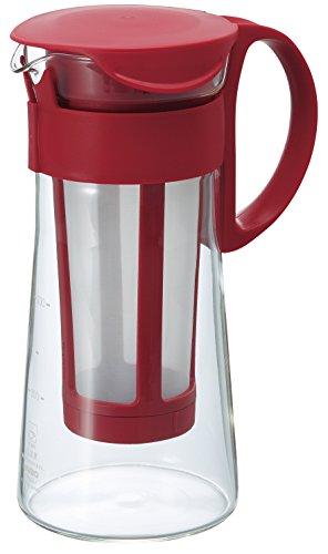 ハリオ 水出しコーヒーポット ミニ レッド 600ml MCPN-7R