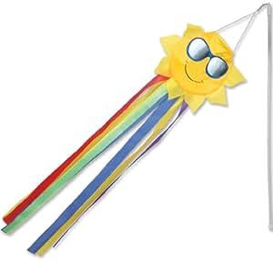Premier Kites 18022 12 Pack Wind Wand Spinner Sunshine