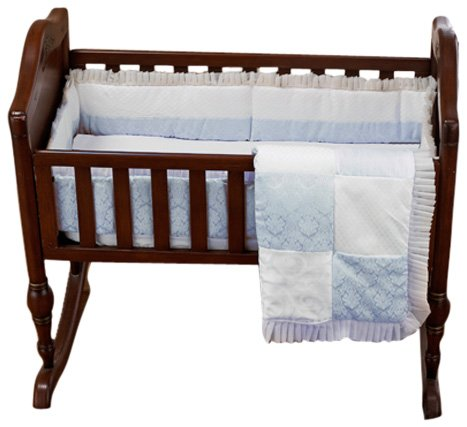 Baby Doll Bedding King Cradle Set, Blue