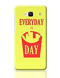PosterGuy Redmi 2 Case Cover - Everyday is FriDay | Designed by: Swaggie