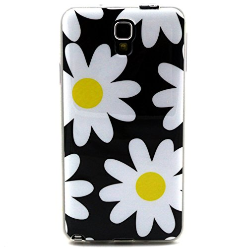 Daisy Flower Soft Flexible Cover Case For Samsung Galaxy Note 3 Lite N7505