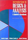 img - for By Geoffrey Keppel - Introduction to Design and Analysis: A Student's Handbook: 2nd (second) Edition book / textbook / text book