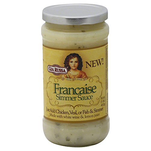Simmer Sauce Francaise 16 OZ (Pack of 6) (Francaise Sauce compare prices)
