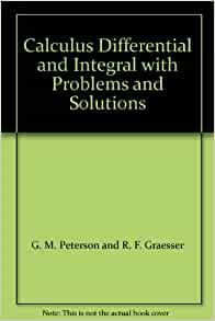 Integral calculus problems with solutions pdf