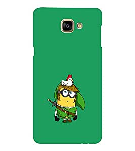 EPICCASE Minion and Hen Mobile Back Case Cover For Samsung Galaxy A9 (Designer Case)