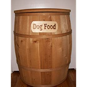 Dog Pet Food Container - Large