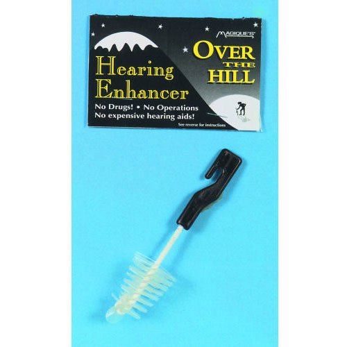 Over the Hill Hearing Enhancer With Instructions Birthday Party Accessory - 1