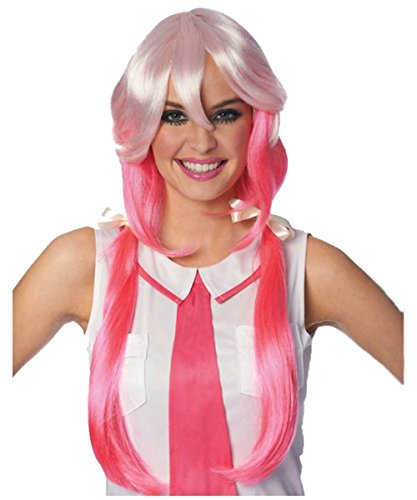 Anime School Girl Adult Women's Costume Wig