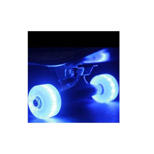 Led Skateboard Wheels Sunset Flare 54Mm White Light Up