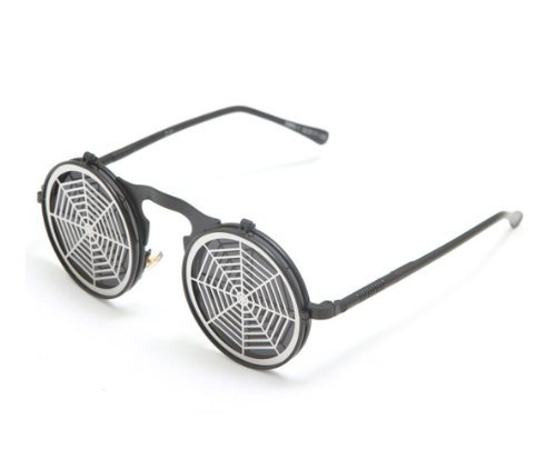 Telam Flip Steam Punk Retro Reflective Sunglasses Personalized Sunglasses