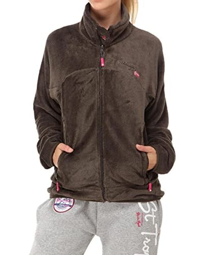 Geographical Norway Fleecejacke Ursula schokolade