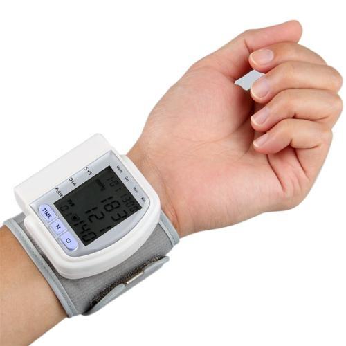 Tensiomètre Poignet Appareil A Tension Pression Artérielle Pouls