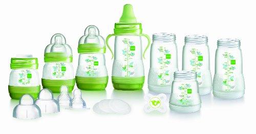 Mam Anti-colic Self-sterilising Bottle Starter Set (green) By Mam Uk