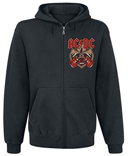 AC/DC Crossed Strings Felpa jogging nero XL