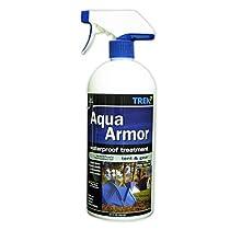Aqua Armor Fabric Waterproofing Spray for Tent & Gear, 32 Oz