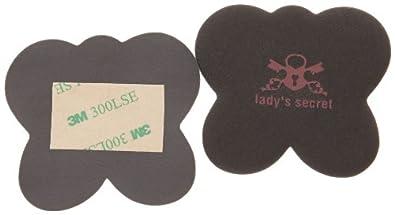 Lady's Secret No Scratch Lot de 3, Semelles - Noir (Black)