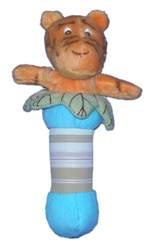 Classic Pooh Plush Stick Baby Rattle - Tigger