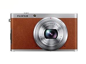 Fujifilm XF1 Digital Camera - Tan (12MP, 2/3 inch; EXR-CMOS Sensor, 4x Optical Zoom) 3 Inch LCD